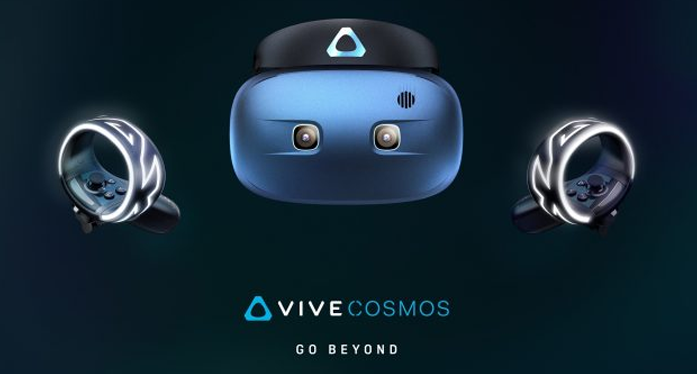 HTC Vive Cosmos and Pro Eye: 2 New VR Headsets at CES 2019