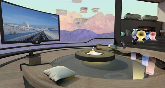 Facebook via the Oculus Room