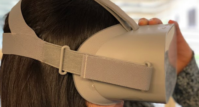 Oculus Go - entirely fabric