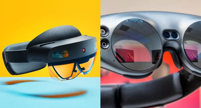 HoloLens 2 vs Magic Leap One - screen and image quality