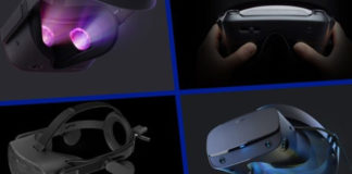 4 major VR Headsets
