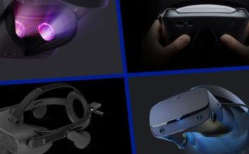 4 major VR Headsets