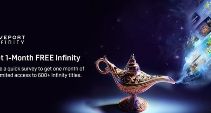 A free month on the Viveport Infinity