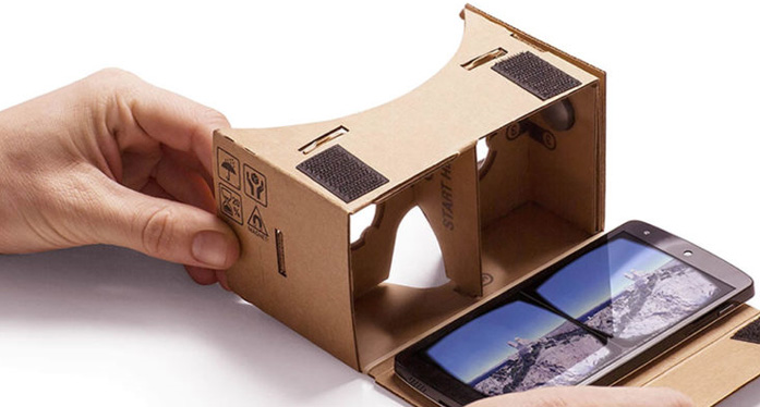 Compatible phones with Cardboard
