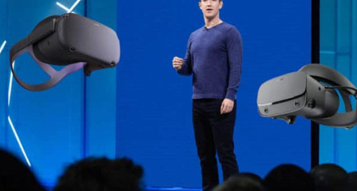Facebook F8-Oculus Quest live VR