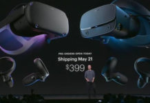 Oculus Quest and Rift S will be released on May 21