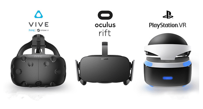 PlayStation VR (PSVR) vs Oculus Rift vs HTC Vive