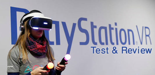 Test & Review PlayStation VR-PSVR
