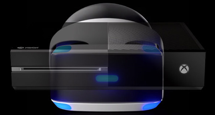 The PlayStation VR, compatible with other platforms