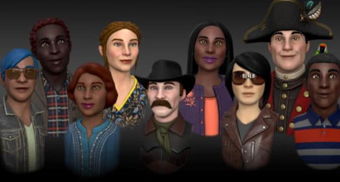Oculus VR - expressive Avatars