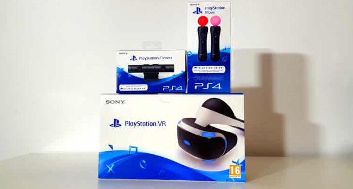 Unboxing of PlayStation VR