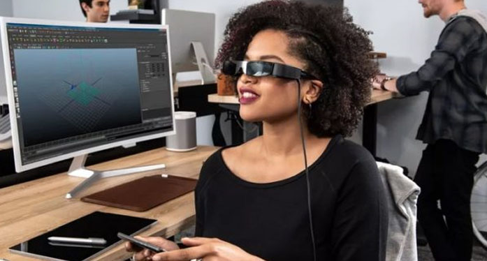 Epson BT-30C: Augmented Reality Glasses for Smartphone at $500