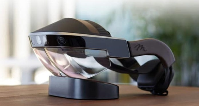 Meta augmented reality headset