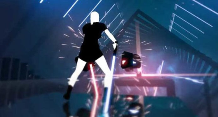 PlayStation VR - Beat Saber