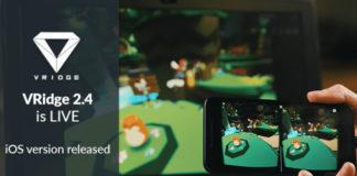 Riftcat VRidge on iOS