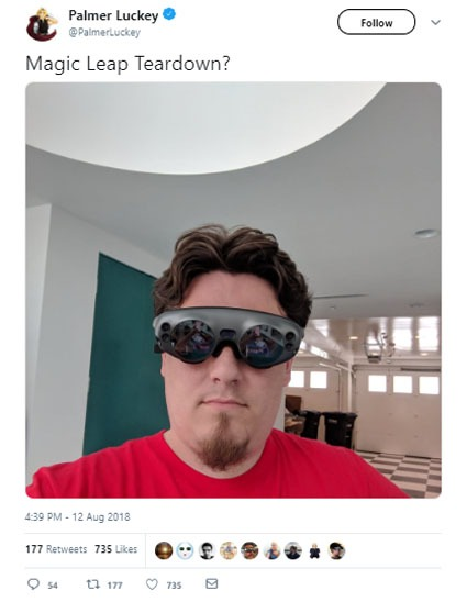 The creator of the Oculus Rift massacre the Magic Leap One
