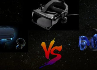 Valve Index vs Oculus Rift S vs HTC Vive Pro
