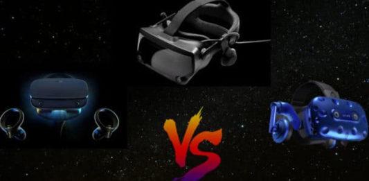 Valve Index vs Oculus Rift S vs HTC Vive Pro