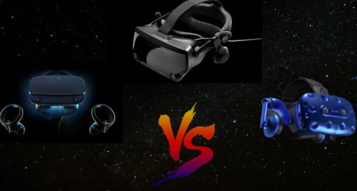 Valve Index vs Oculus Rift S vs HTC Vive Pro: Which is the