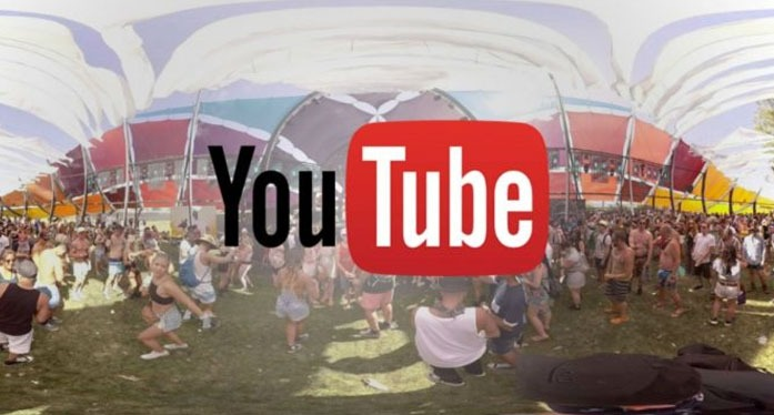 Youtube VR-360-degree video platform