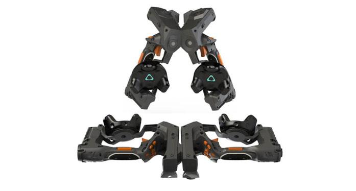 a unique modular haptic VR controller