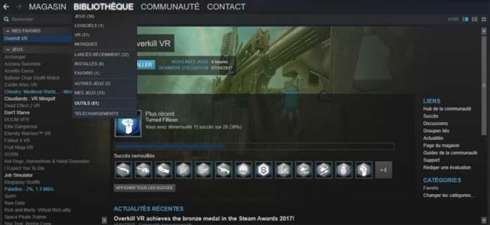 Install SteamVR