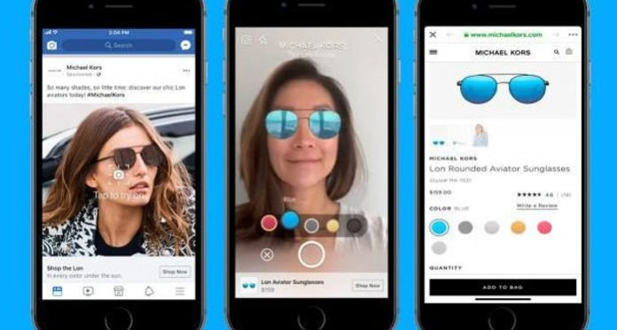 Facebook launches Augmented Reality ads