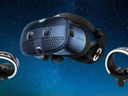 HTC Vive Cosmos official VR headset