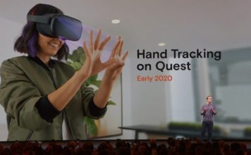 hand-tracking on Oculus Quest for 2020